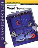 Microsoft Word 7 for Windows 95 - Introductory, Zimmerman, Beverly B. and Zimmerman, S. Scott, 076003544X