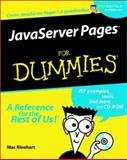 JavaServer Pages for Dummies, MacCormac Rinehart, 0764515446