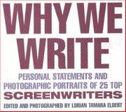 Why We Write 9781879505452