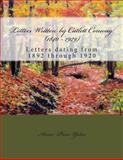Letters Written by Catlett Conway (1840 - 1929) CSA Veteran, Anne Yates, 1481885456