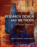 Research Design and Methods : A Process Approach, Bordens, Kenneth S. and Abbott, Bruce B., 0078035457