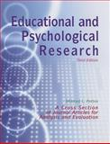 Educational and Psychological Research : A Cross Section of Journal Articles for Analysis and Evaluation, , 1884585450