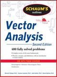 Vector Analysis, Spiegel, Murray R. and Lipschutz, Seymour, 0071615458