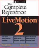 LiveMotion : The Complete Reference, Sherry London, 0072225459