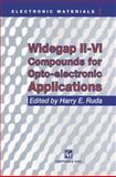 Widegap II-VI Compounds for Opto-Electronic Applications, , 1461365457