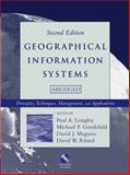 Geographical Information Systems : Principles, Techniques, Management and Applications, , 0471735450