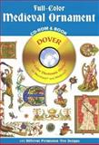 Full-Color Medieval Ornament, Dover Publications Inc. Staff, 0486995453