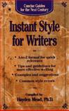 Instant Styles for Writers, Hayden Mead, 0425155463