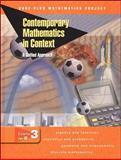 Contemporary Mathematics in Context Course 3 Pt. B 9780078275463