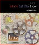 Mass Media Law, 2001-2002, Pember, Donald R., 0072435461