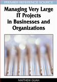 Managing Very Large IT Projects in Businesses and Organizations, Guah, Matthew W., 159904546X