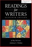 Readings for Writers, McCuen, Jo Ray and Winkler, Anthony C., 0838405460
