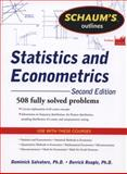 Statistics and Econometrics : 508 Fully Solved Problems, Reagle, Derrick and Salvatore, 0071755470