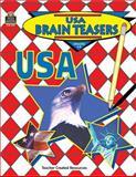 USA Brain Teasers, Carol Eichel, 1557345473