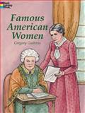 Famous American Women, Gregory Guiteras, 0486415481