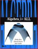 Algebra for All, Aikey, Phillip, 0072895489