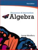 Elementary and Intermediate Algebra, Woodbury, George, 0321665481