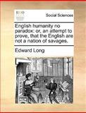 English Humanity No Paradox, Edward Long, 1140845489