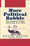 More Political Babble, David Olive, 0471135488