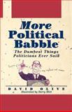 More Political Babble, David Olive, 0471135488