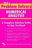 Numerical Analysis Problem Solver, Research & Education Association Editors, 0878915494