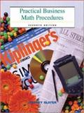 Practical Business Math Procedures : Mandatory Package with Business Math Handbook, DVD, and Wall Street Journal Insert, Slater, Jeffrey, 0072555491