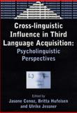 Cross-Linguistic Influence in Third Language Acquisition : Psycholinguistic Perspectives, , 1853595497