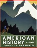 American History : A Survey, Brinkley, Alan, 0073385492