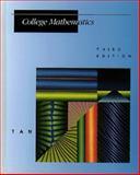 College Mathematics, S. T. Tan, 0534935494