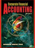 Corporate Financial Accounting, Warren, Carl S. and Reeve, James M., 0324225504