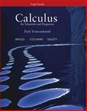 Calculus for Scientists and Engineers : Early Transcendentals, Single Variable, Briggs, William and Cochran, Lyle, 0321785509