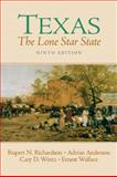 Texas : The Lone Star State, Richardson, Rupert Norval and Anderson, Adrian, 0131835505