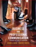 Business and Professional Communication : Principles and Skills for Leadership Plus MySearchLab with EText, Beebe, Steven A. and Mottet, Timothy P., 020586550X