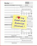 I Love My Food and Exercise Journal, Food Food Journals, 1499735502