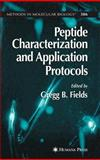 Peptide Characterization and Application Protocols, , 1588295508