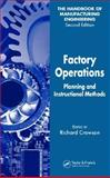 Factory Operations : Planning and Instructional Methods, , 0849355508