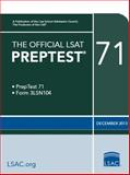 The Official LSAT Preptest 71, Law School Admission Council, 0986045500