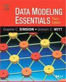Data Modeling Essentials, Simsion, Graeme and Witt, Graham, 0126445516