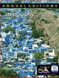 Geography 2000-2001, Pitzl, Gerald R., 007236551X