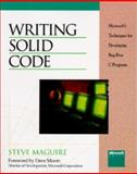Writing Solid Code, Maguire, Steve, 1556155514