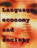 Language, Economy and Society : The Changing Fortunes of the Welsh Language in the Twentieth Century, Aitchison, John and Carter, Harold, 0708315526
