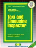 Taxi and Limousine Inspector, Jack Rudman, 0837325528