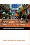 East Asian Welfare Regimes in Transition, Chack-kie Wong, 1861345526
