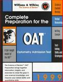 Complete Preparation for the OAT, 1999 : Optometry Admission Test, Betz, 0683305522