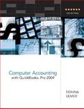 Computer Accounting with QuickBooks Pro 2004, Ulmer, Donna, 0072865539