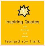 Inspiring Quotes, Leonard Roy Frank, 0517225530