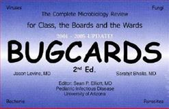Bugcards : The Complete Microbiology Flashcard Review for Class, the Boards, and the Wards, Jason Levine, Sarabjit Bhalla, 0967165539