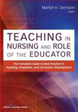Teaching in Nursing and Role of the Educator, Marilyn Oermann, 0826195539