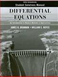 Differential Equations : An Introduction to Modern Methods and Applications, Levandosky, Julie and Boyce, William E., 0470125535