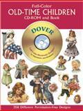 Full-Color Old-Time Children, Dover Staff, 0486995534